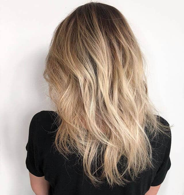 Soft Natural Waves With Light Pretty Hair