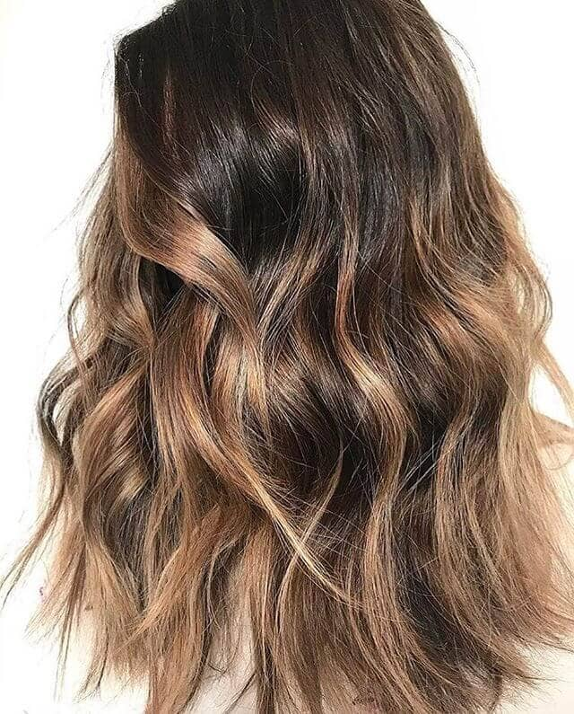 Pretty and Subtle Chunky Highlights