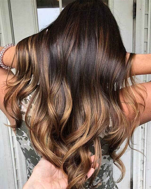 Caramel Blonde Hair with Sunny Tips