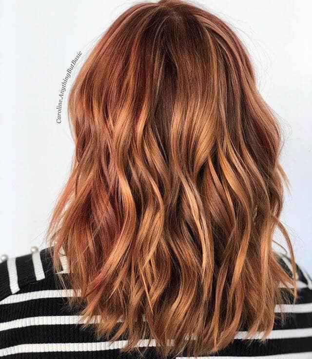 Feisty, Fiery Fall Hair Colors