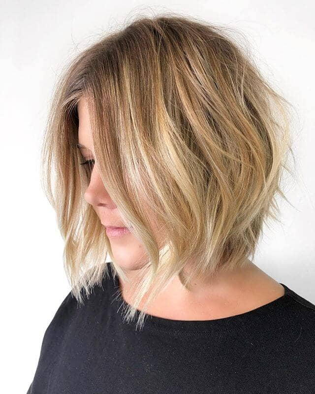 Naturally Blonde With Rosy Undertones