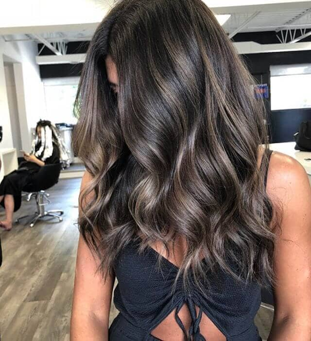 Subtle Balayage Fall Hair Colors