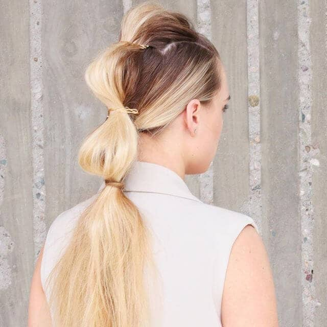 Dragon Ridge Tri-Tied Ponytail Hairstyles