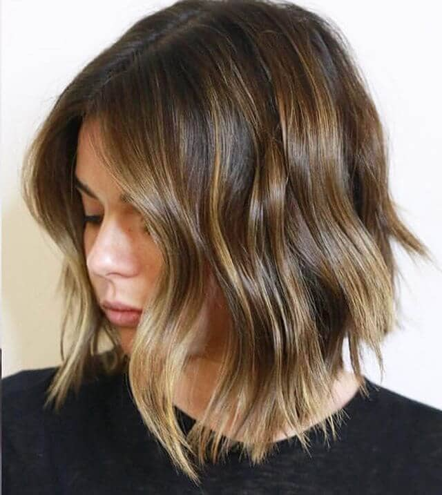 Shaggy Bob for Light Brown Hair