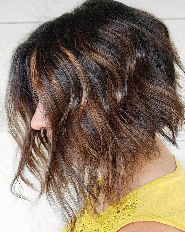 Chestnut Waves With Mahogany Highlights