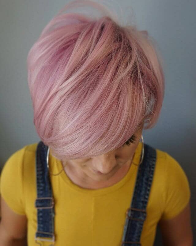 Dusty Rose With Platinum Accents