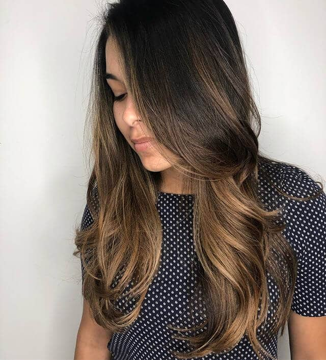 Simply Sweet and Natural Fall Hair Color