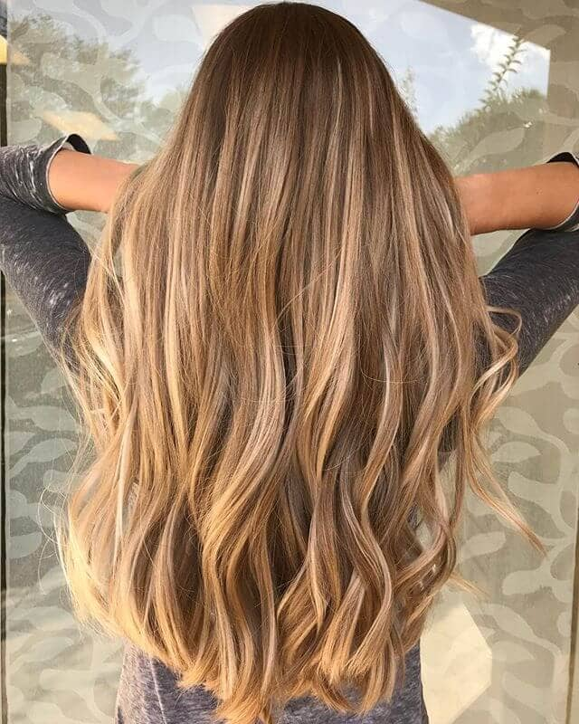 Long Honey Blond Waves - Rapunzel Style