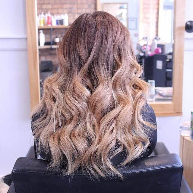 Striking Ombre with Big Waves