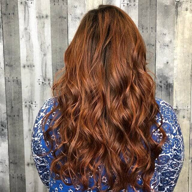 Quick Copper Tone Fall Hair Color