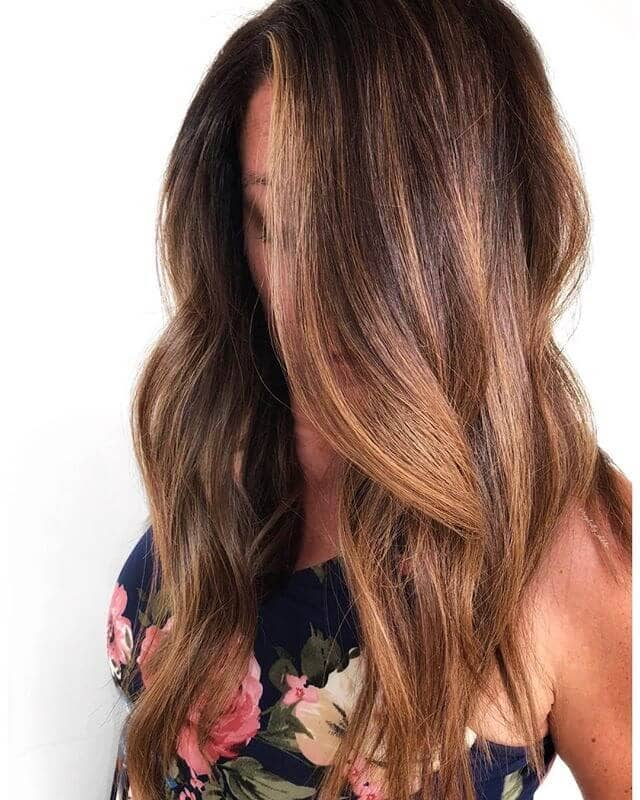 Multidimensional Blonde Drapes with Foxy Highlights