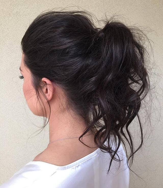 High Arc Ponytail for Wispy Hair