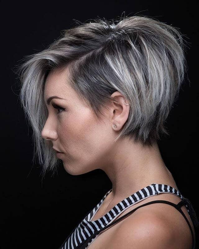 Heigh Ho, Silver Haircut For Fine Hair