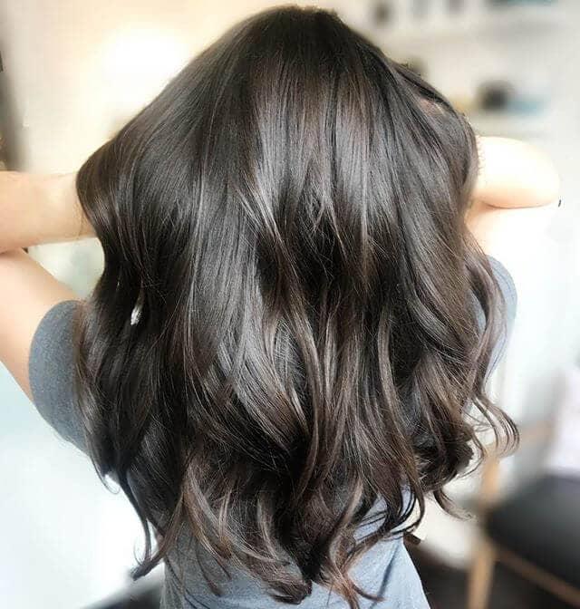 Dark Brown Single Color Waves
