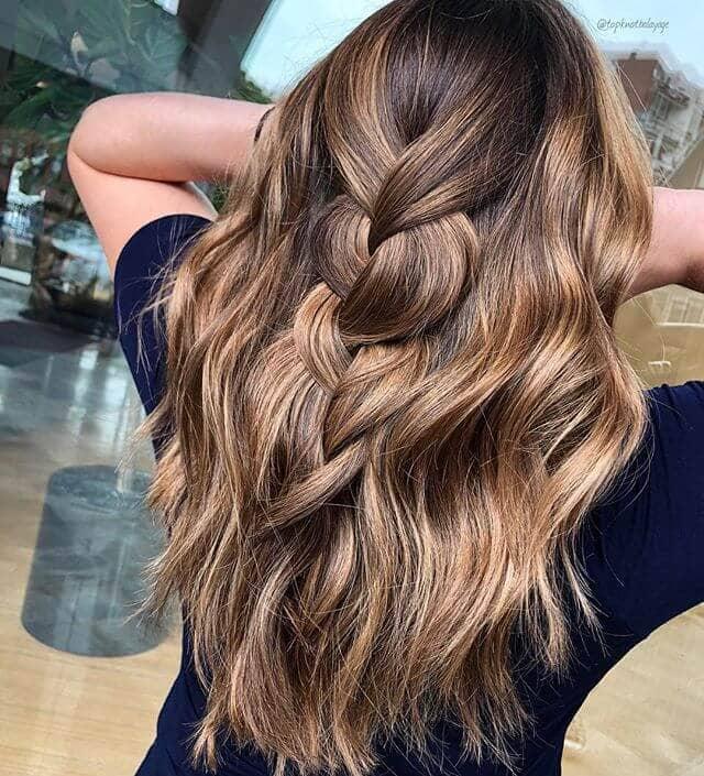 Honey Gold Thick Braided Hair