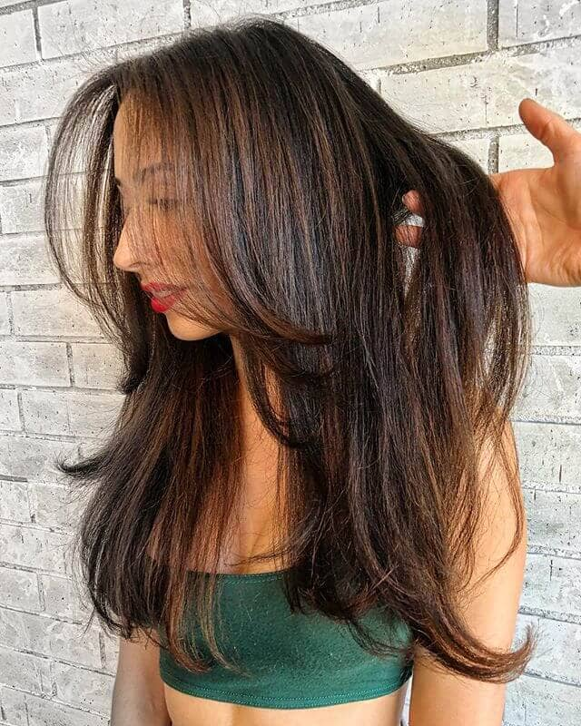 Light, Soft, Touchable Hair With Tapered Ends