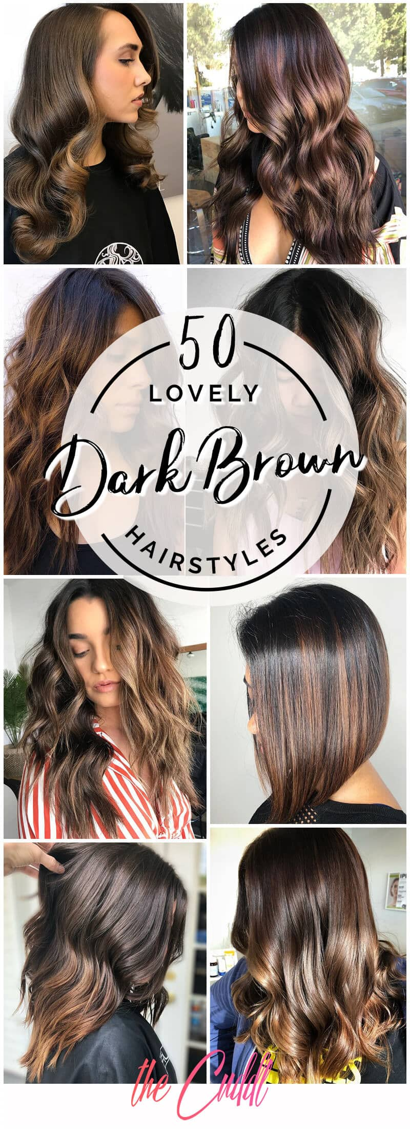 50 Fun Dark Brown Hair Ideas To Shake Things Up In 2021