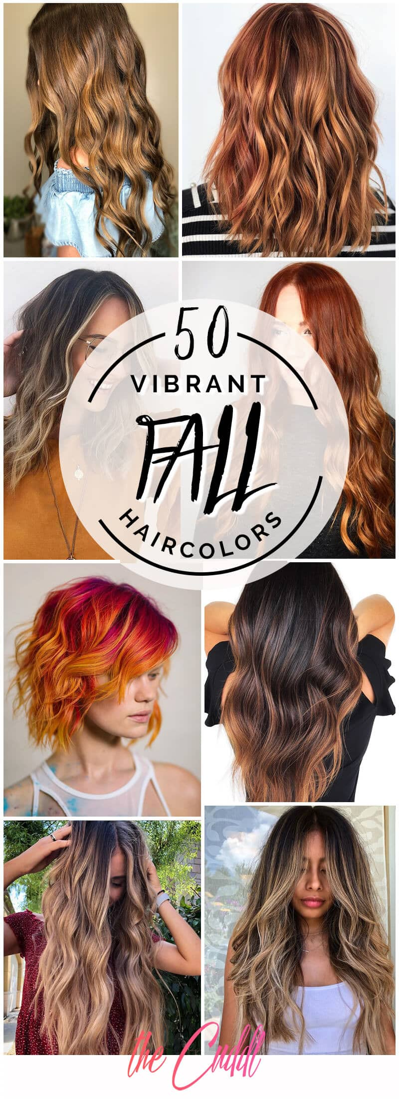 50 Vibrant Fall Hair Color Ideas To Accent Your New Hairstyle In 2020
