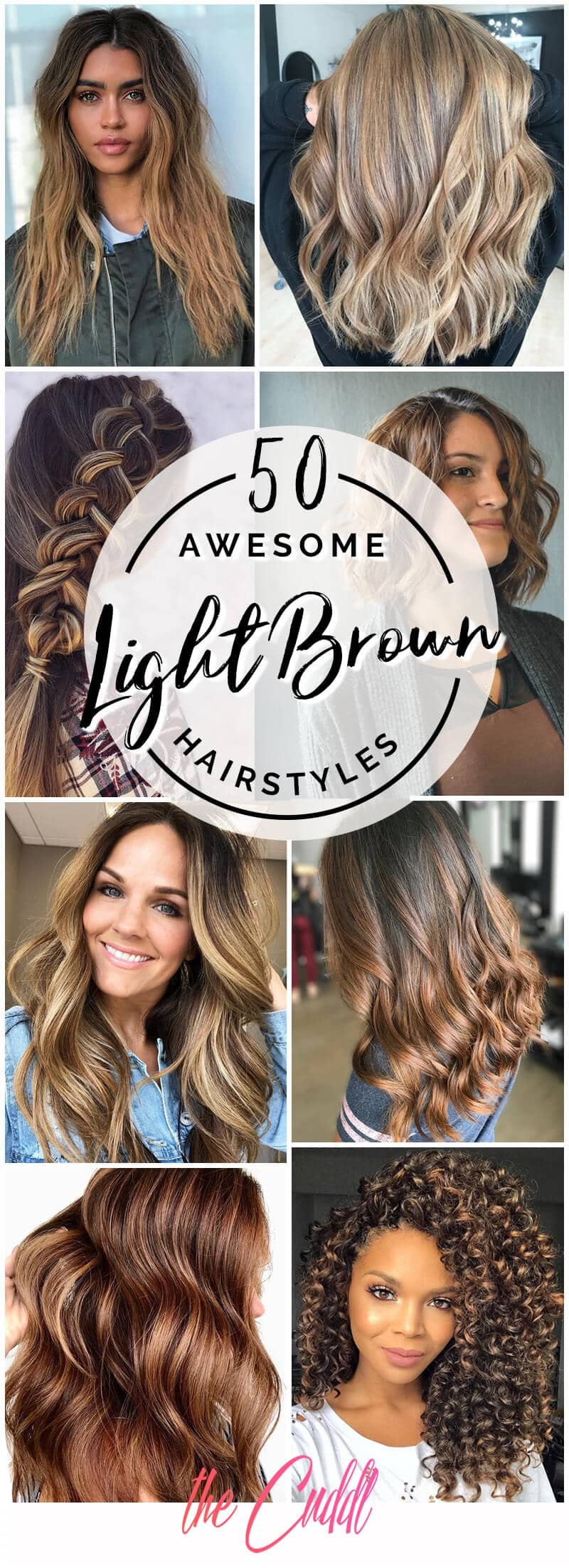 50 Gorgeous Light Brown Hairstyle Ideas To Rock A Hot New Look In 2020