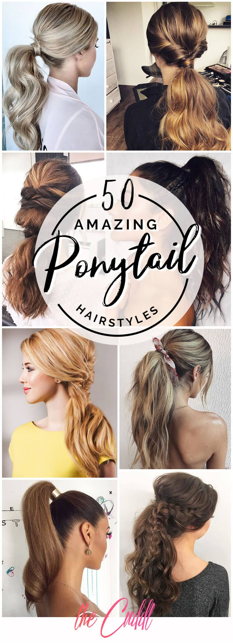 50 Gorgeous Ponytail Hairstyles to Update Your Updo