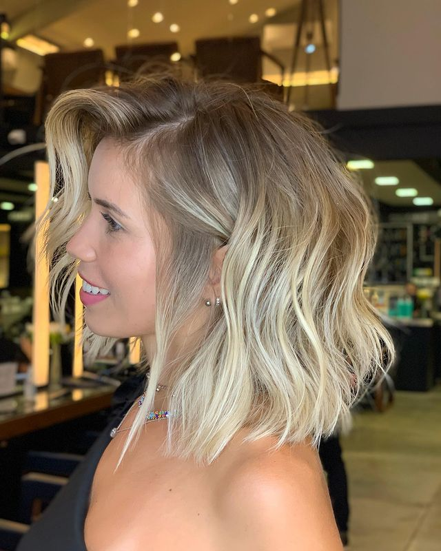 Rising Waves Hairstyle for Short Hair
