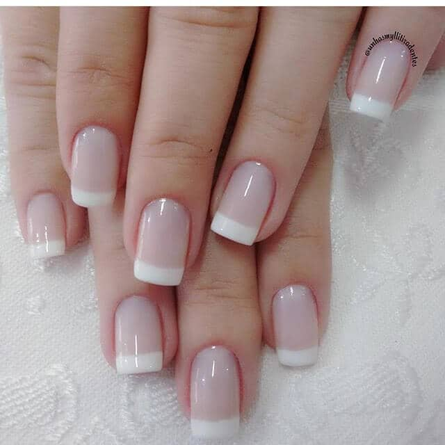 The World-Renowned French Tip Manicure