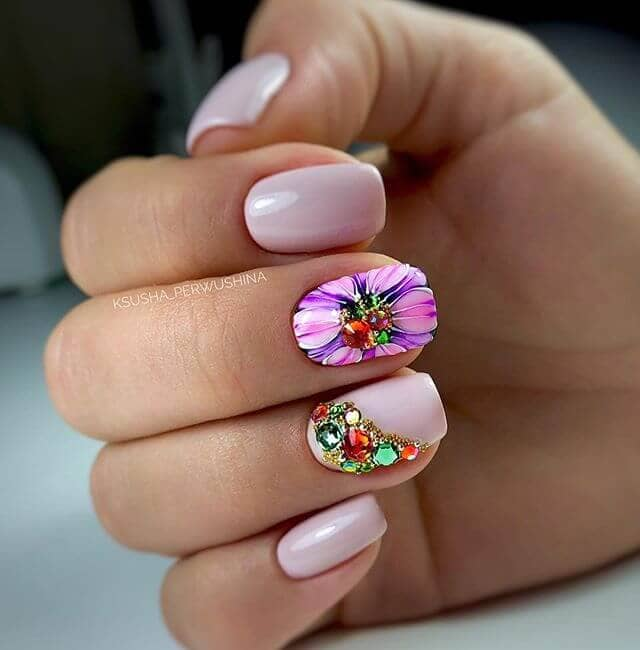 Tropical Twisting Tango Best Nail Design