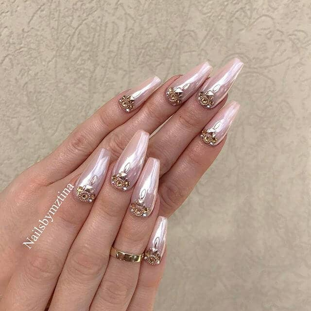 Bride-Perfect Nails for Any Princess
