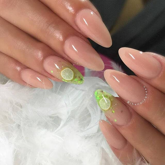 Lemon Lime Twist Best Nail Design