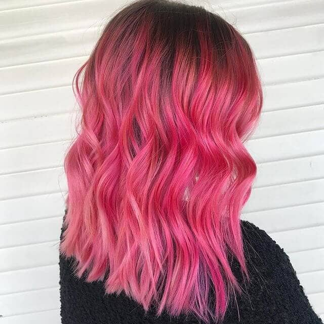 Refreshing Strawberry Punch Pink Hair