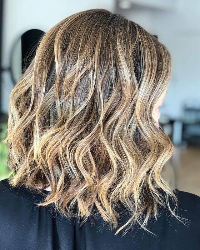 Best Buttery Blonde Highlights in Light Brown Hair