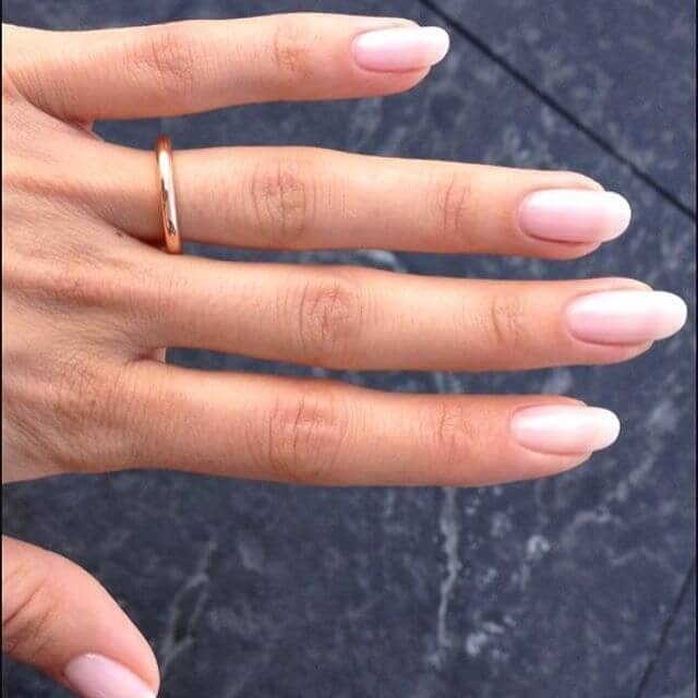 A Subtle, Yet Sophisticated Nail Design