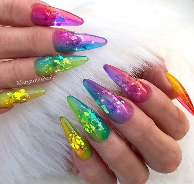 Magic is in the Air Fairy Godmother Cute Nails