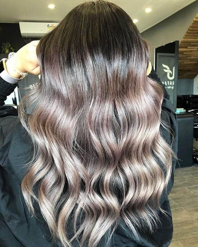 Beautiful Blush Blonde Highlights Hair Idea