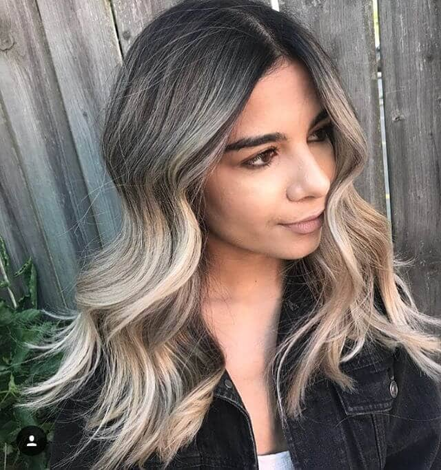 imple Icy Blonde Highlights
