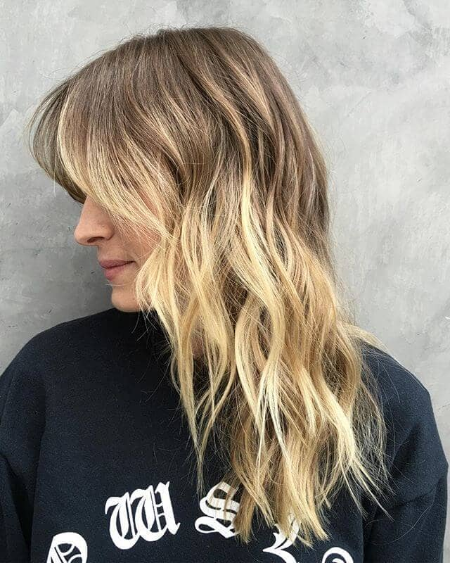 Ombre Bangs All the Way Down
