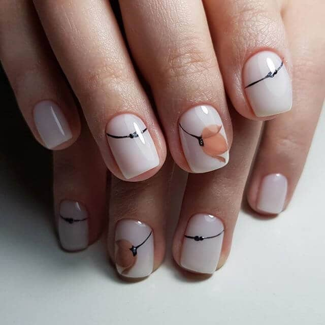 Forget Me Not Cute Nail Ideas