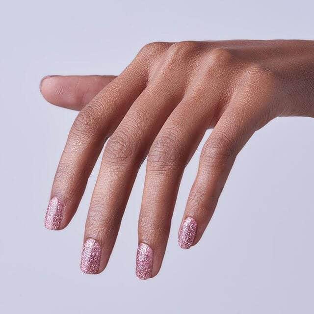 Best Glittery Rose Nail Design Ideas