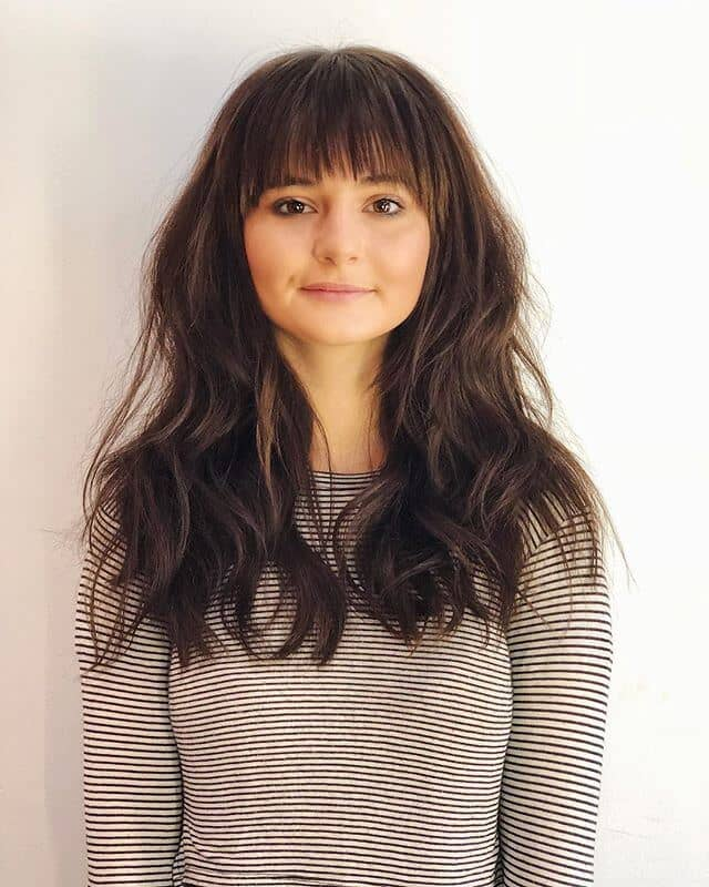 Easy, Adorable Bangs With Fluffy Hair
