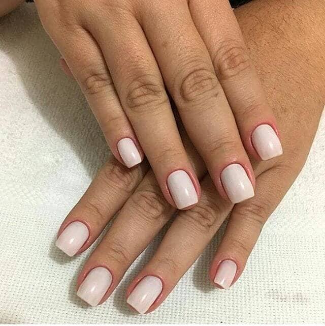 Stand Out with a Polished White Manicure