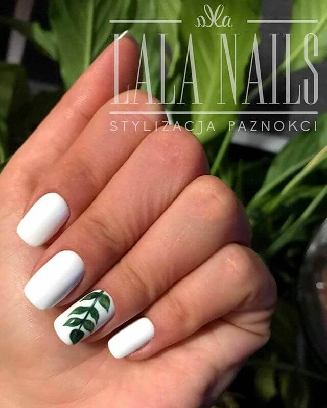 Subtly, Yet Breathtaking Accent Nail Art