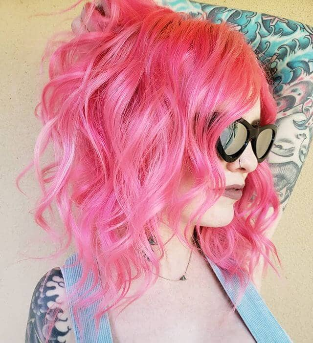 One Hot Bubblegum Pink Mama