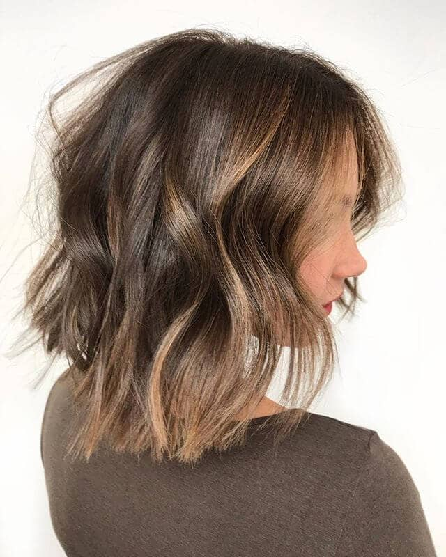 Effortlessly Wavy Long Bob