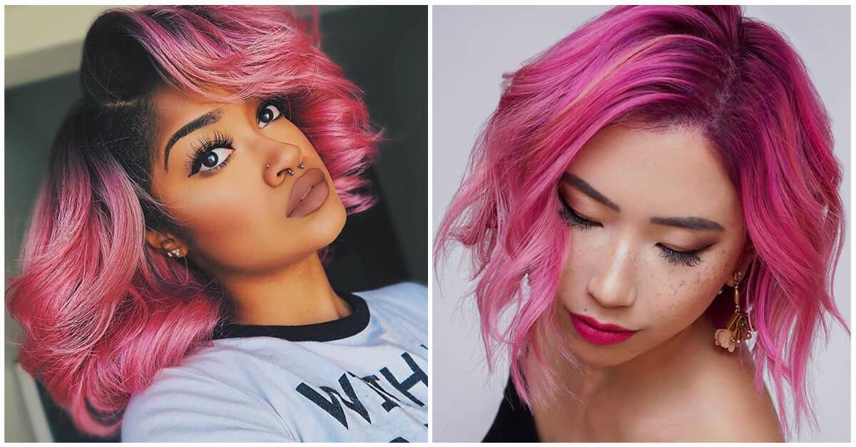 50 Best Pink Hair Styles To Pep Up Your Look In 2020