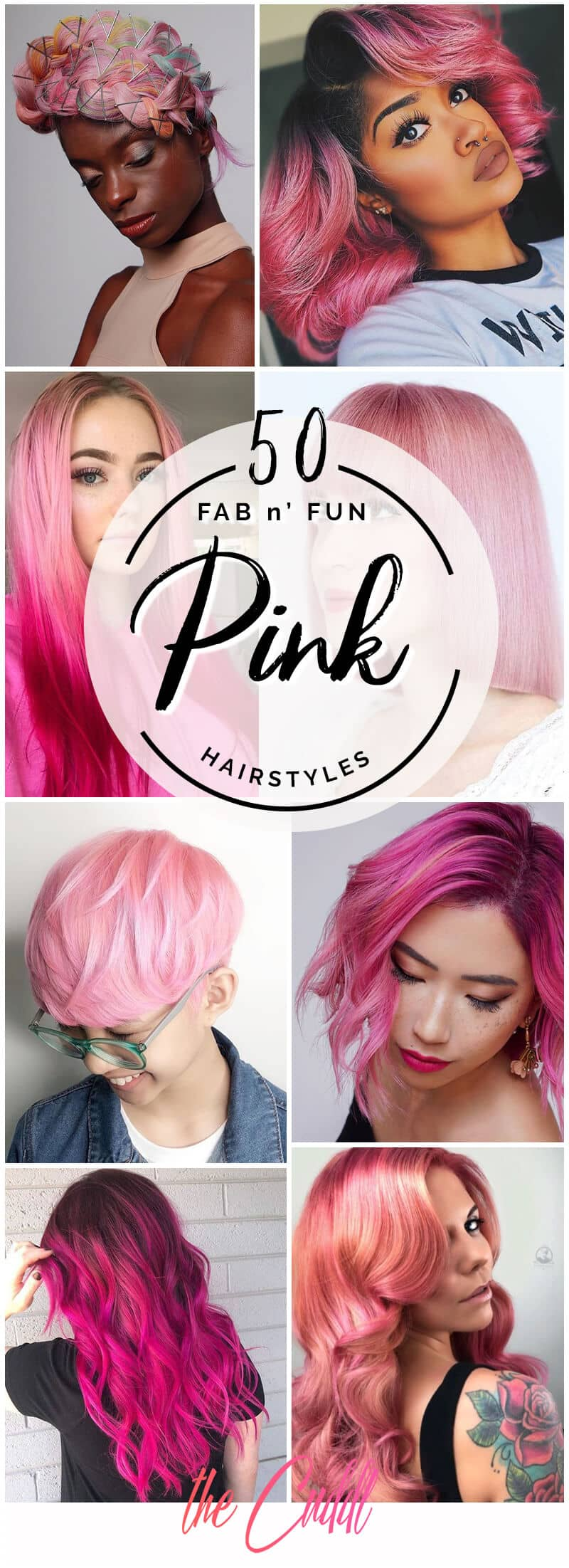 50 Pink Hair Styles to Pep Up Your Look