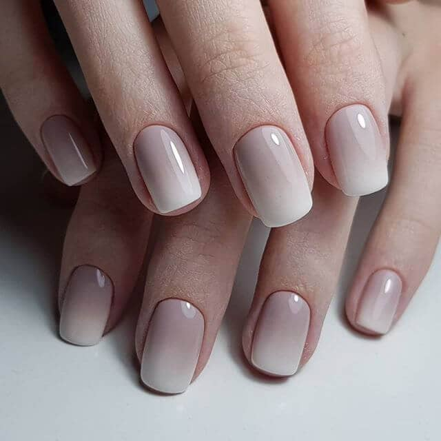 Keep It Classy With Simple Ombre Nails
