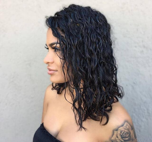 Tamed Naturally Curly Hair Idea
