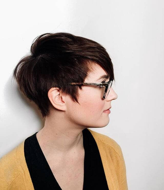Perfect Pixie for Round Faces