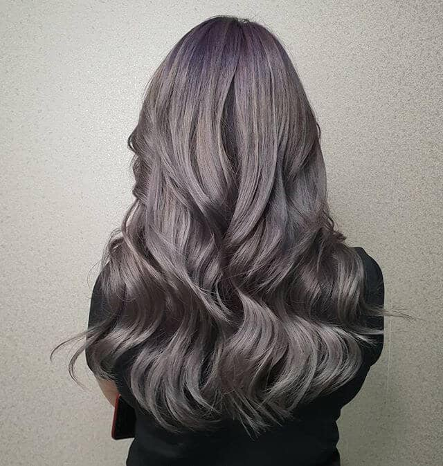 Silky Satin Waves for Long Hair