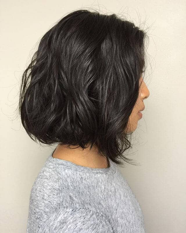 Super Easy Wavy Perm Hair